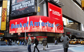Bank of America's Q1 net profit doubles