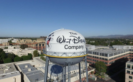 Disney shares fell 4%