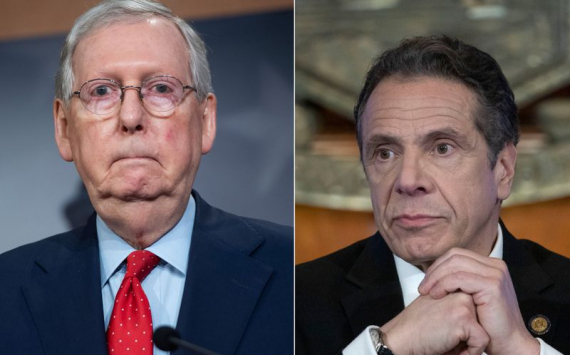 Cuomo blasts McConnell's 'dumb, vicious' and 'ugly' opposition to 'blue state' coronavirus bailouts