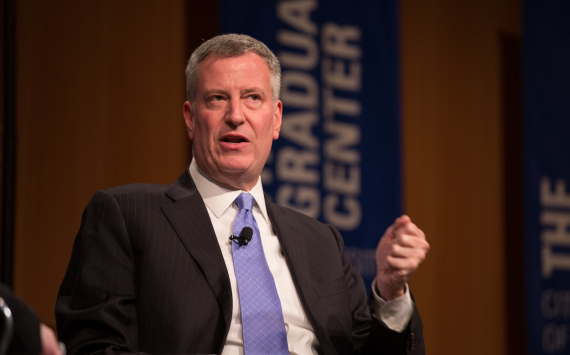 Mayor Bill de Blasio preparing to close schools immediately if positivity threshold reached
