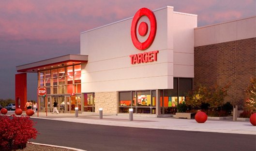 Quarterly profits of Target exceeded projections