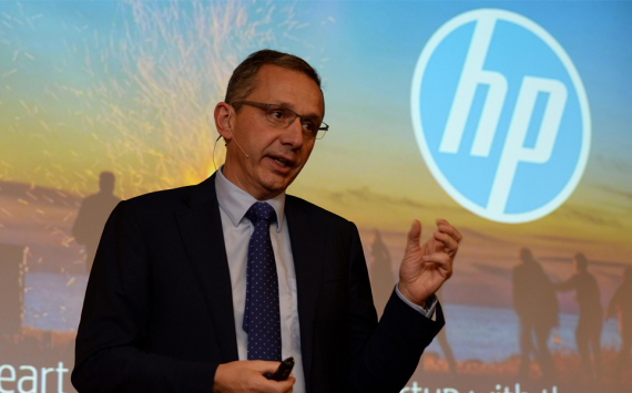 HP shares grew with quarterly profit growth