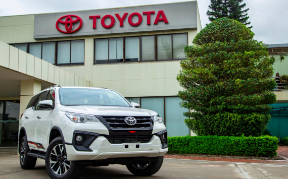 Toyota's net profit rose 1.5 times in Q3