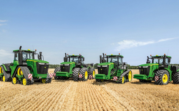 Deere's quarterly profit increased 2.4 times