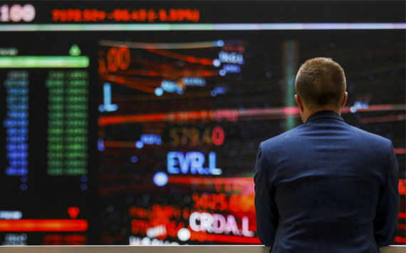 European stock markets end on a downward trend