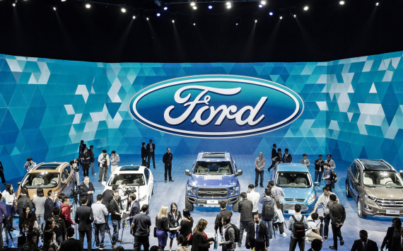 Ford Motor reported lower deliveries in February