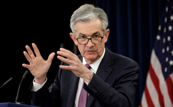 Stock indices fell again after Jerome Powell's statements